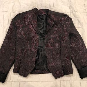Urban Outfitters Purple Sparkle Blazer - m